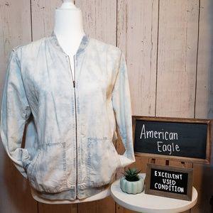 EUC + American Eagle + Acid wash jean jacket